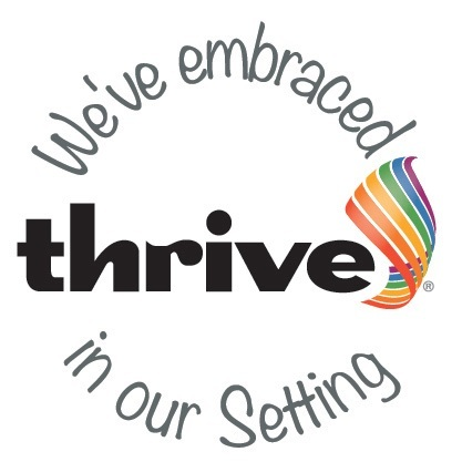 THRIVE embraced setting