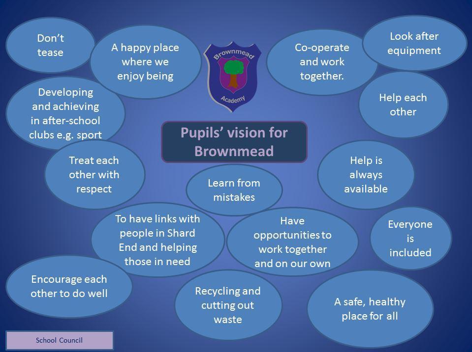 School council vision